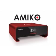 Amiko A3, satelliet en multimedia ontvanger, rood