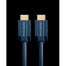 Clicktronic High Speed HDMI kabel met ethernet - advanced series- 0,5 meter