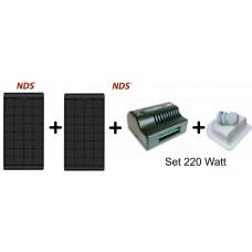 NDS  Zonnepaneel Black SET  KPB220WP