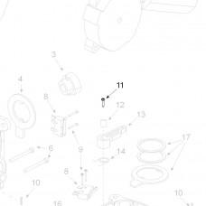 Teleco 03081 spare part Schroef M5x25 T.65/85