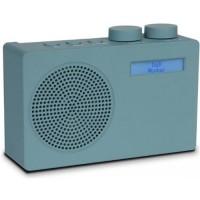 Akai Portable DAB+ radio ADB10, turquoise