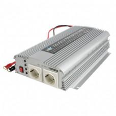 Omvormer 12 - 230 V 1000 W met lader